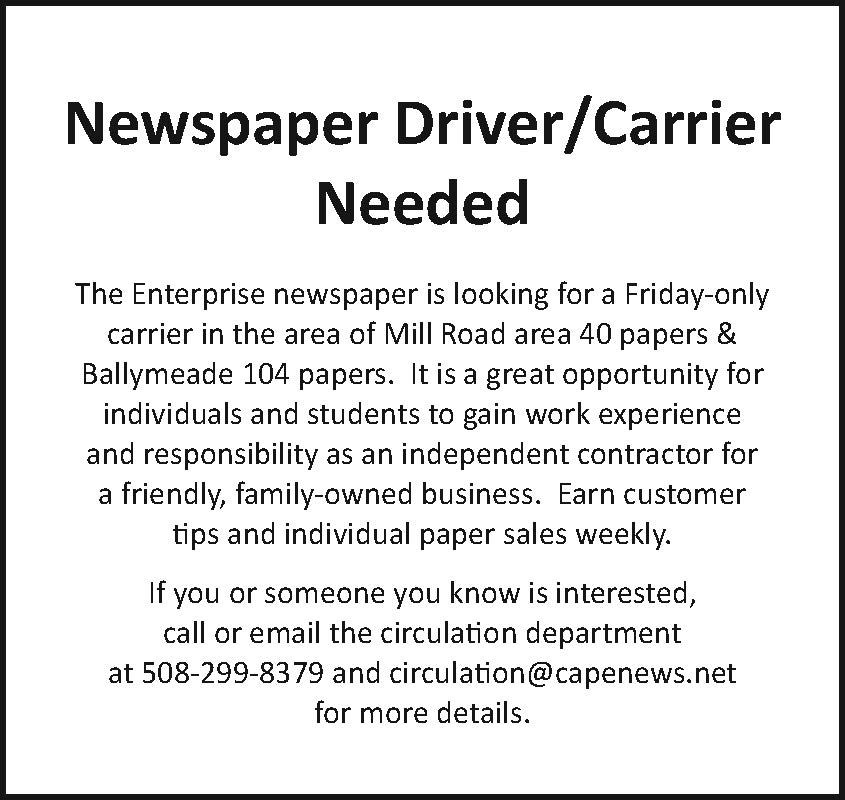 Enterprise News Drivers/carriers Needed